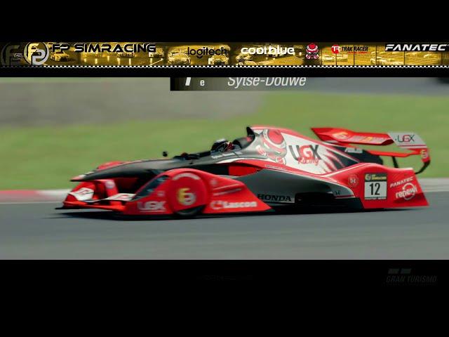Livestream FP SimRacing RedBull Junior Rookie race Korte samenvatting.