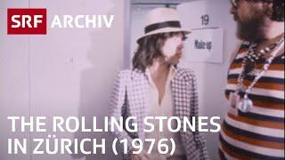 The Rolling Stones in Zürich (1976)   Backstage im Hallenstadion    SRF Archiv