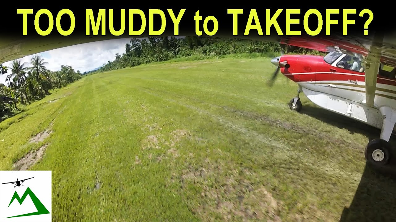 Muddy Jungle Airstrip to Slippery Mountain Airstrip in Papua New Guinea | Bush Pilot Flight Vlog