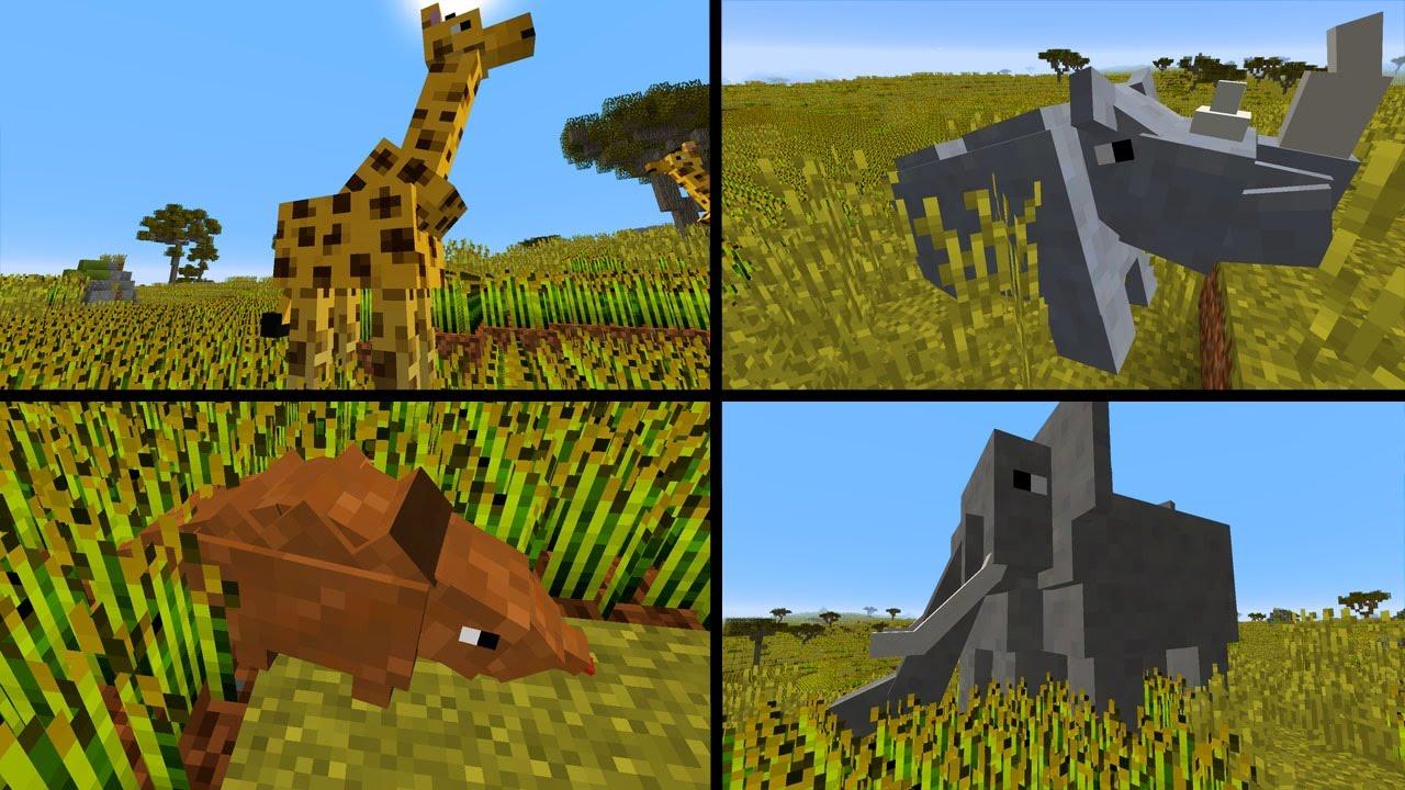 Super Viele Tiere Gesehen Jägerfallen Minecraft Wildlife - Minecraft mit tieren spielen
