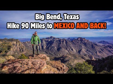 Big Bend National Park - Chisos Mountains To Rio Grande Loop Hike Jan 2016 - 85 Miles