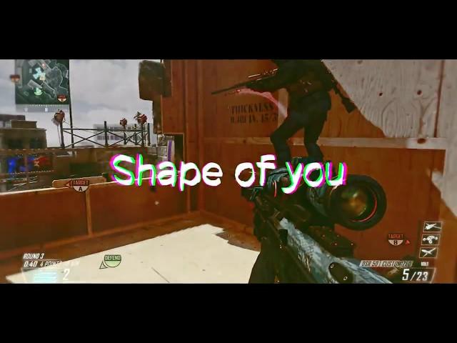 Shape of you (Editors Appclip) #ShushE
