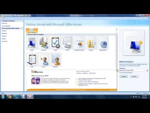 How to build movie collection database using MS ACCESS 101 Part 1
