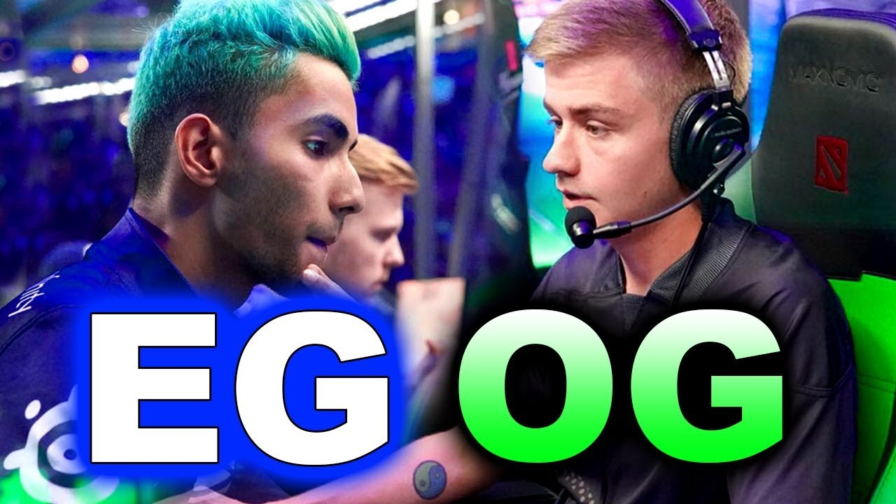 EG vs OG - MOST INCREDIBLE GAME! #TI8 - THE INTERNATIONAL 2018 DOTA 2