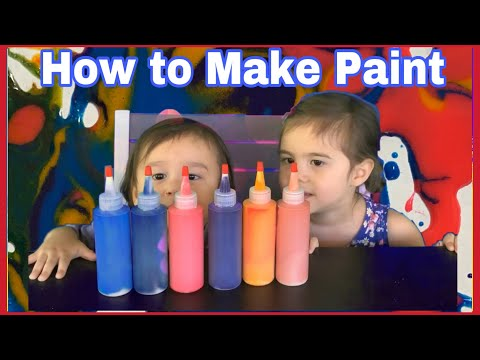 How Homemade Scented Paint Might Help Children Learn