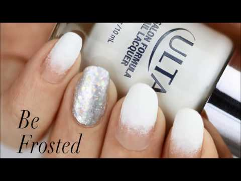 Be Frosted For The Holidays Nail Tutorial | Ulta Beauty