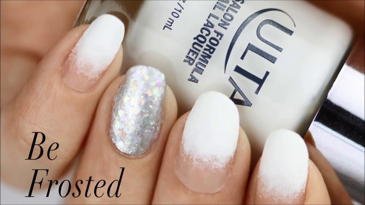 Be Frosted For The Holidays Nail Tutorial | Ulta Beauty - YouTube