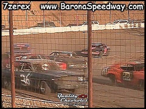 Pure Stock Heat 2 Barona Speedway 4-22-2017