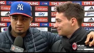 Intervista di De Sciglio ma...arriva Boateng! thumbnail