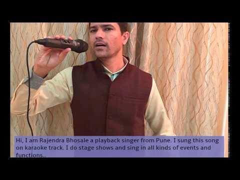 Best live performer - Best Singer from Pune - Hirva Nisarga Ha Bhavtine.. By Rajendra Bhosale