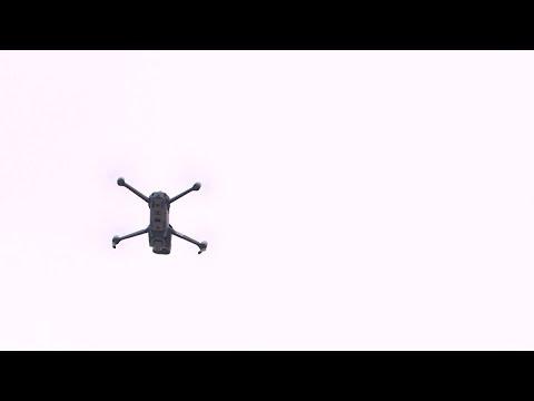 Coronavirus COVID-19: des drones diffusent messages de prévention et rappels à l'ordre en Nièvre