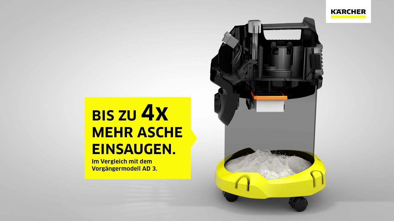 1.629-731.0 Kärcher Asche und Trockensauger AD 4 Premium