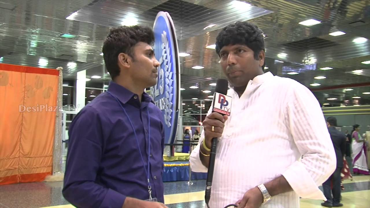 Krishna Koduru,TANTEX EC member speaking to Desiplaza TV at ATA Convention 2016.