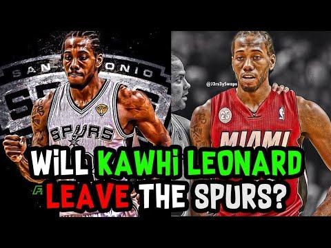 Will Kawhi Leonard LEAVE The San Antonio Spurs in FREE AGENCY?