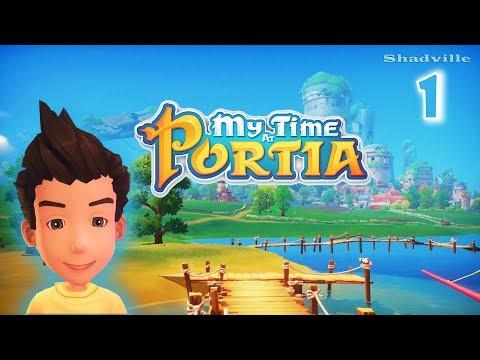 Моя жизнь в Портии ☀ My Time At Portia Прохождение игры #1