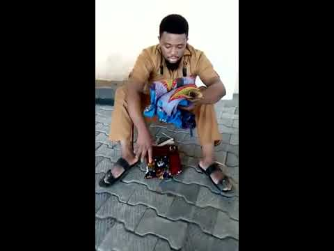 Nawa o! Fresh University Graduate Caught Trying To Use His Parents For Ritual (Watch Video)
