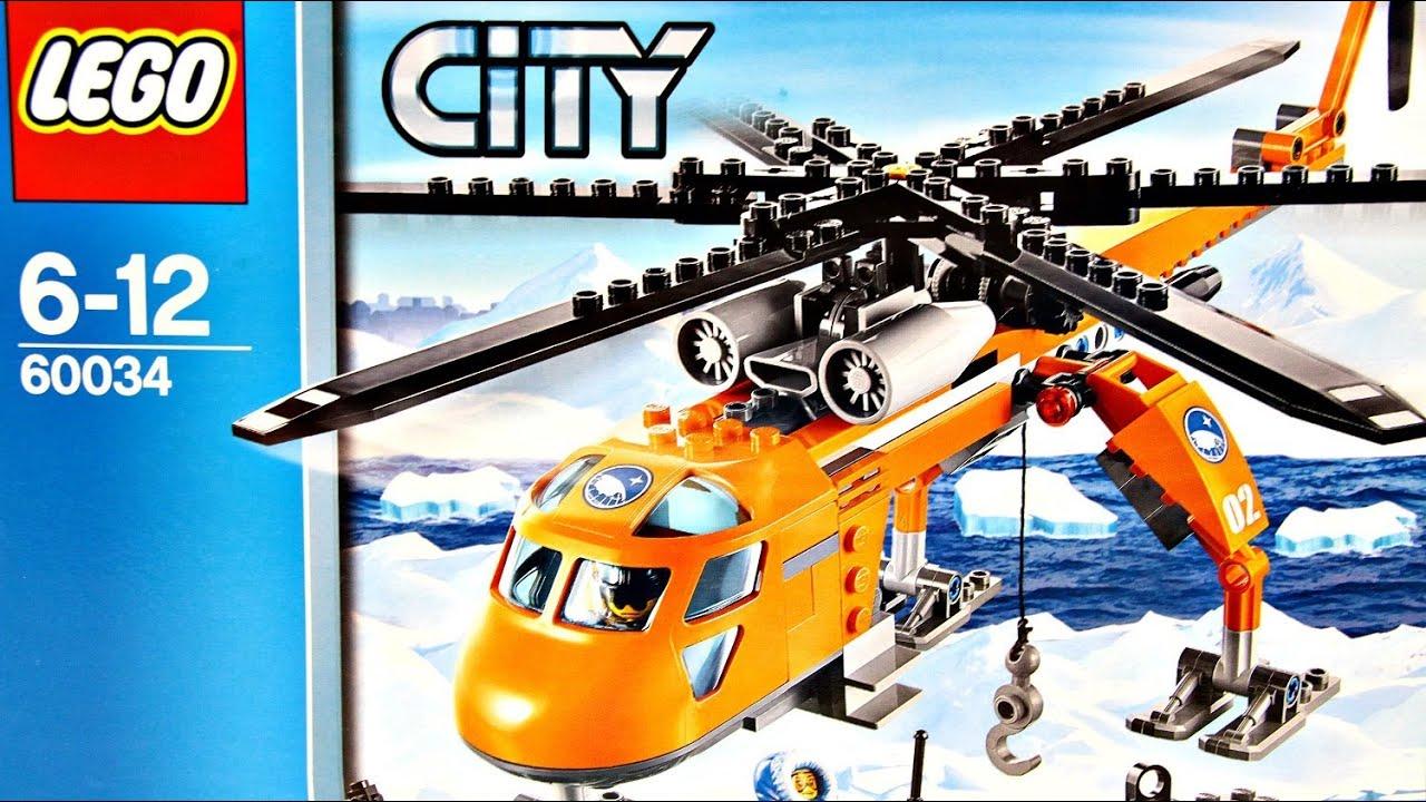Arctic Helicrane Arktyczny Helikopter 60034 Lego City Recenzja