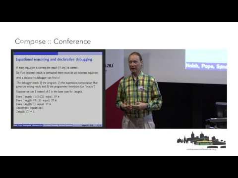 Lee Naish - Equational Reasoning and Intended Semantics in Functional Programming