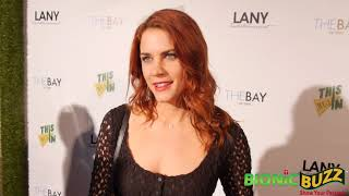 Courtney Hope Interview at LANY Entertainment Mixer