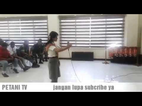 Juara I vokal solo Maria Sitanggang di KODIM 0201/BS