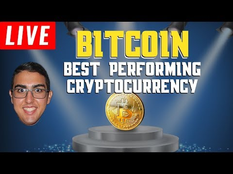 Bitcoin (BTC) Remains The Best Performing Cryptocurrency