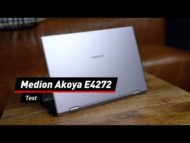 Schlichtes Convertible Medion Akoya E4272 Im Test Youtube
