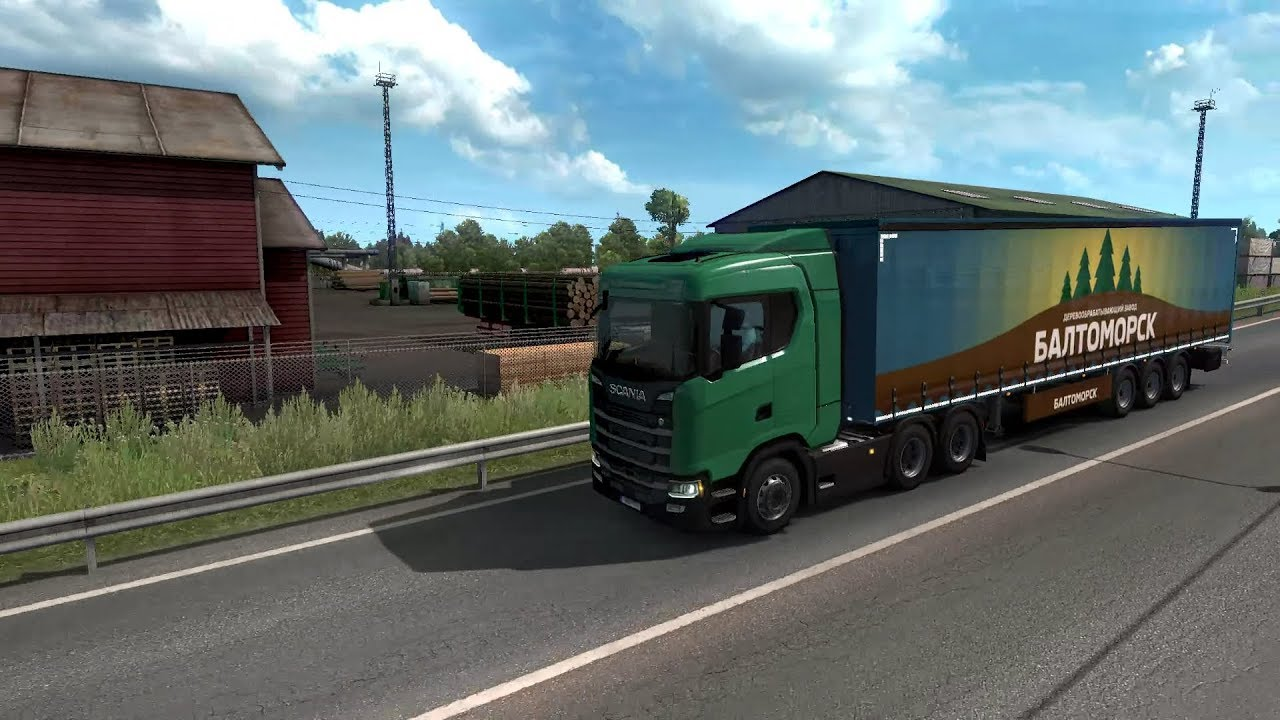 [Download] - EURO TRUCK SIMULATOR 2 – BEYOND THE BALTIC SEA DLC (PC DL) -  [Truck Driving Game]