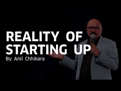 Reality of Starting Up | Anil Chhikara | Jaarvis Accelerator | Mumbai Startup Fest'17