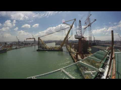 Asian Hercules II and Asian Hercules I heavy lift barges