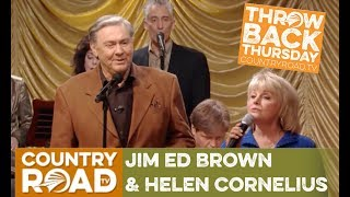 """Jim Ed Brown & Helen Cornelius sing """"I Don't Wanna Have to Marry You"""" on Country's Family Reunion"""