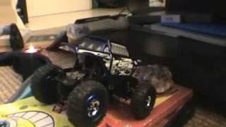 Losi Micro Crawler ! Amazing Homemade Extreme Trial Race