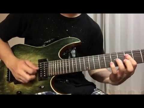 【ギター】ERRA/Alpha Seed Guitar cover【弾いてみた】
