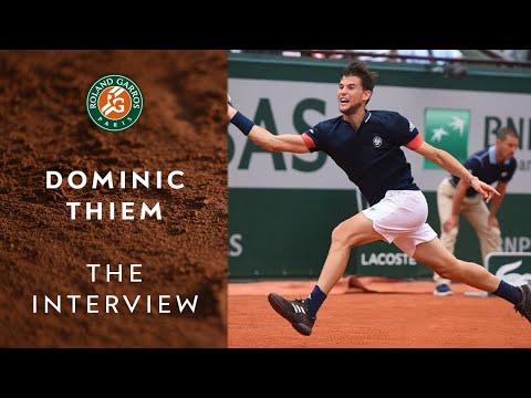 Dominic Thiem : the interview - Part 2 : the player | Roland Garros 2019