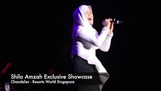 "Shila Amzah(茜拉) ""Chandelier"" live in Resort World Singapore"