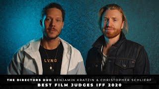 Benjamin Kratzin and Christopher Schlierf (The Directors Duo) - IFF Best Film Judges 2020