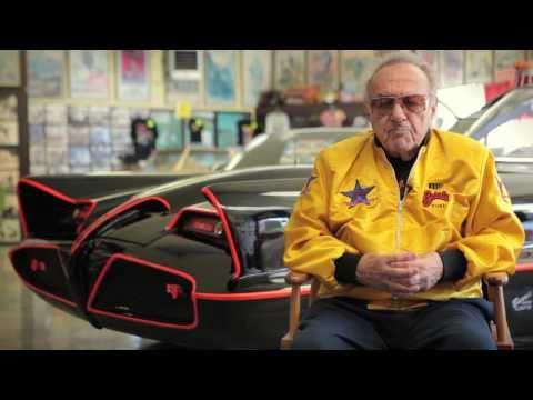 George Barris of Barris Kustom : History of the Batmobile & Car Customizing