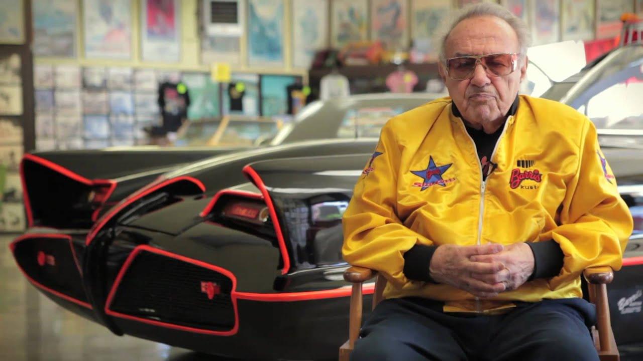 Free Car History Report >> George Barris of Barris Kustom : History of the Batmobile & Car Customizing - YouTube