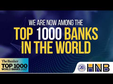 We are now among the top 1000 banks in the world