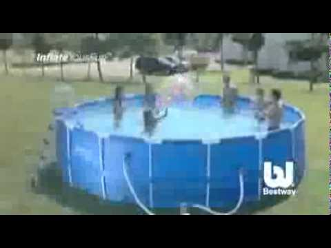 Bestway Jumbo Inflatable Outdoor Pool with Filter