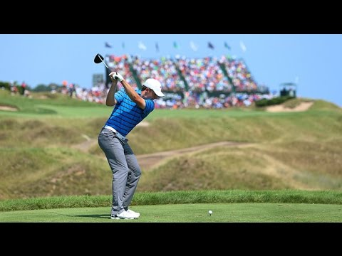 Top 10 Finish PGA Tour 2015 Slow Motion Swing