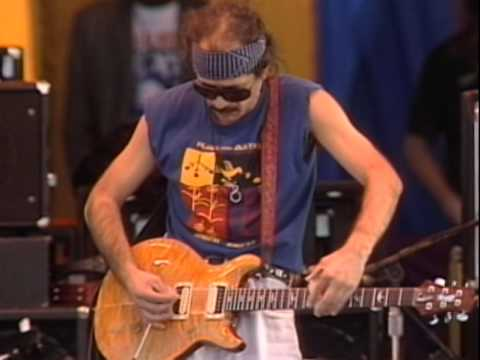Santana - Black Magic Woman - 11/26/1989 - Watsonville High School Football Field (Official)