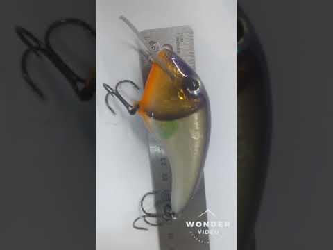 Ryan's Custom Baits Handmade balsa baits test run crankbaits flatside wood  baits lures(4)