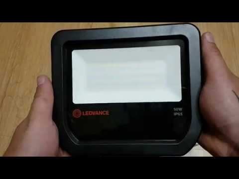 Wspaniały LEDVANCE OSRAM 50W 5500LM 4000k NOWA SERIA test porównanie - YouTube BM72