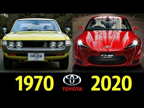 Toyota Celica - Эволюция (1970 - 2020) ! История Модели !