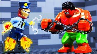 Lego Police School - Avengers Superheroes Fail Toy Animation