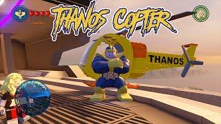 LEGO Marvel's Avengers - Thanoscopter Gameplay and Unlock Location