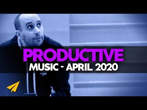 Productive Music Playlist | 4 Hour Mix | April 2020 | #EntVibes