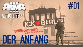Altis Life RPG [#01] | Der Anfang: Willkommen in Berlin! | Berlin Life | BeRehGames