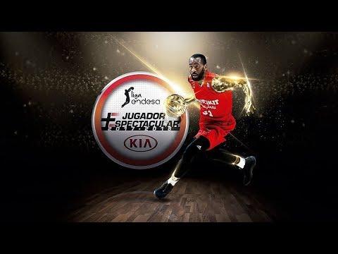 Christian Eyenga, Jugador Más Espectacular KIA 2017-18