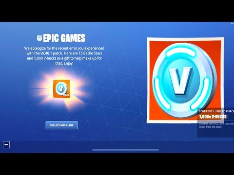 *NEW* FREE MOBILE VBUCK REWARD NOW in Fortnite.. (THANKS EPIC!)